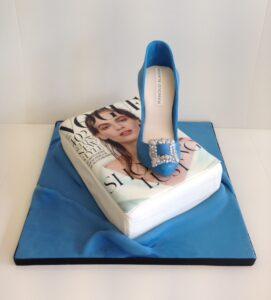 Manolo Blahnik shoe birthday cake
