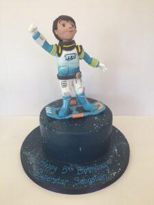 Miles from Tomorrow birthday cake