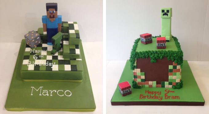 Endless Possibilities With Our Minecraft Cakes Cakes By Robin