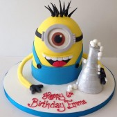 3D Minion birthday cake Despicable Me birthday cake