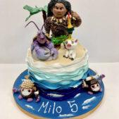 Moana Birthday Cake Image
