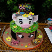 Moana Cake Table
