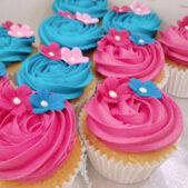 Moana Themed Cupcakes Image