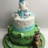 Monkey and polar bear