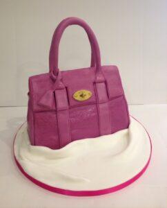 Mulberry handbag birthday cake