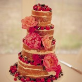 Naked cake 4 tier