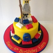 Ninjago sugar model cake