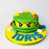 Ninjago themed birthday cake