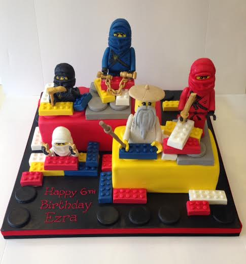 Ninjago Birthday Cake London