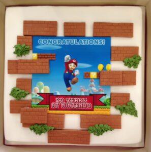 Nintendo corporate cake transfer