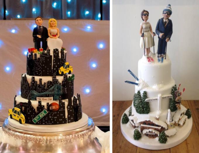 Novelty wedding cakes - blog image