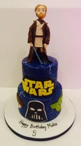 Obi One Kanobi birthday cake