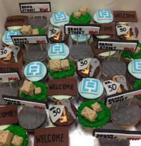 Office move cupcakes