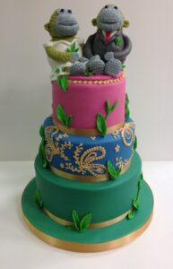 PG Tips themed cake