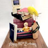 Pastime Cakes 2 – Happy 80th Birthday