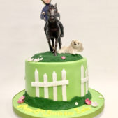 Pastime Cakes 4 – Horseriding Cake