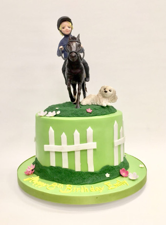 Pastime Cakes 4 - Horseriding Cake