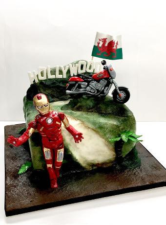 Pastime Cakes 5 - Iron Man
