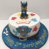 Paw Patrol Small Dog Cake