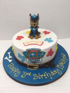 Paw Patrol Small Dog Cake