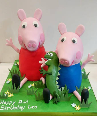 Pig Out On Cakes With Peppa