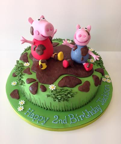 Peppa Pig Birthday Cakes By Robin