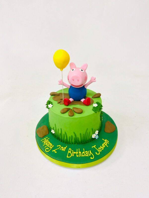 Peppa Pig or George Birthday cake