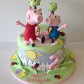 Peppa and ice creams