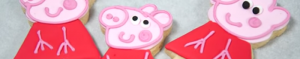 Pepper pig cookies