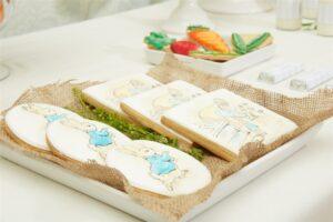 Peter Rabbit dessert table
