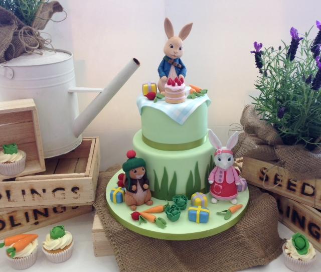 Peter Rabbit birthday cake