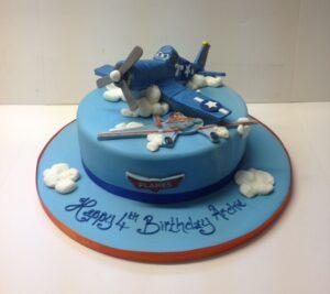Disney Planes children's birthday cake