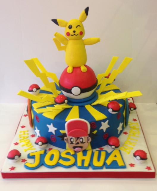Pikachu Birthday Cake Pokemon cake - Cakes b...