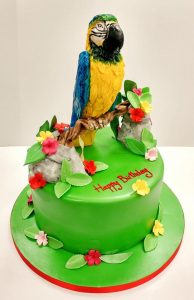 Polly Parrot Cake