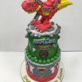 Power Ranges Cake