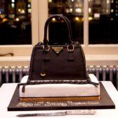 Prada handbag birthday cake