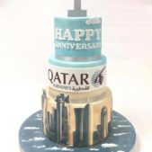 Qatar -one year of flying out of Gatwick