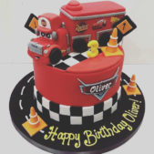 Race Car Disney Cake