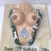 Risque Cake