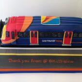 SW Trains cake