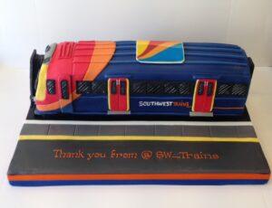 South West trains cake