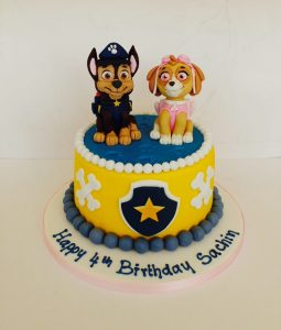 sachin-4th-birthday-paw-patrol