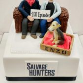 Salvage Hunters Corporate Cake