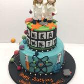 Scientist Cake