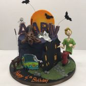 Scooby Doo Cake Birthday