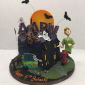 Scooby Doo Cake Birthday