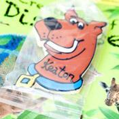 Scooby Doo cookies for children at weddings