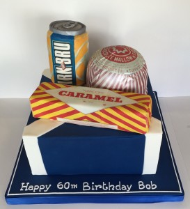 Scottish food products birthday cake