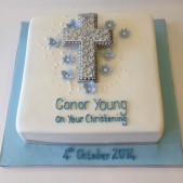 Simple cross cake