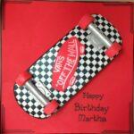 Vans Skateboard cake